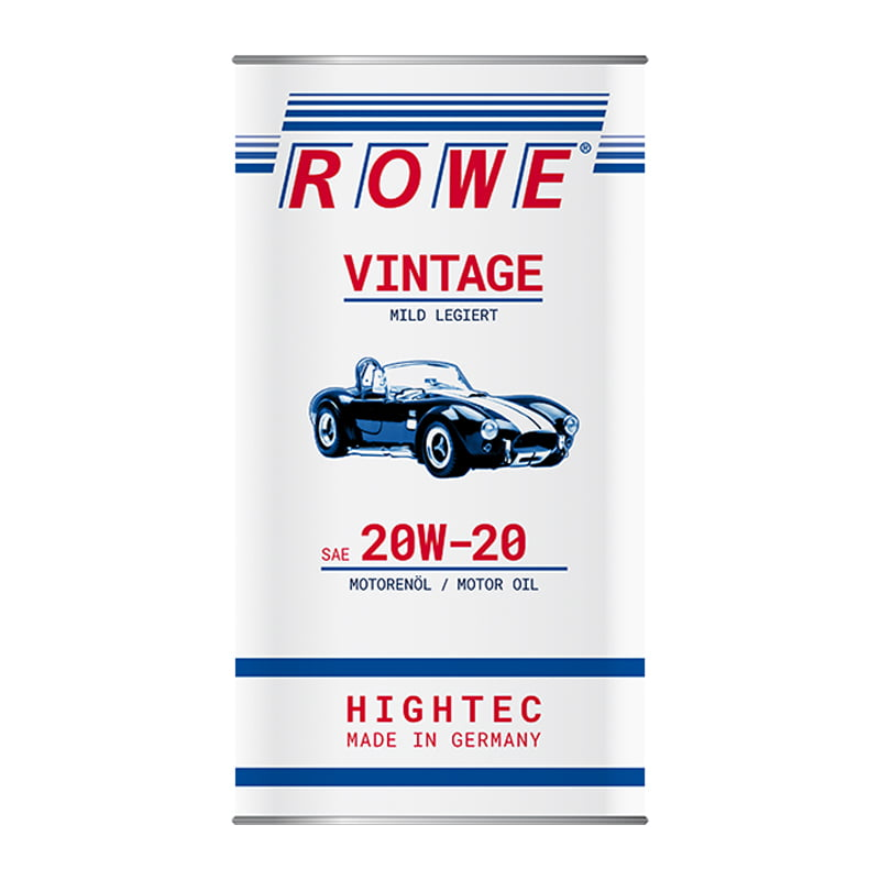 ROWE HIGHTEC VINTAGE SAE 20W-20 mild legiert - 5 Liter