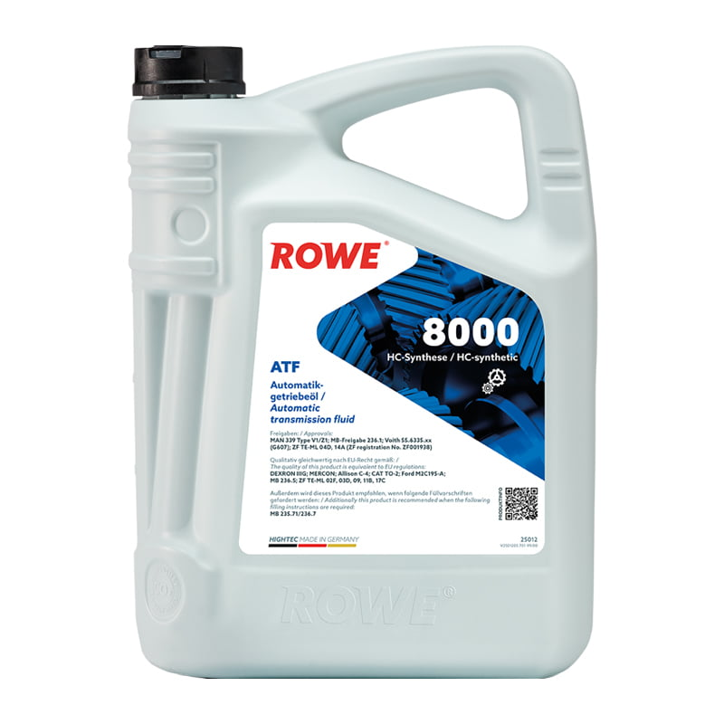 ROWE HIGHTEC ATF 8000 - 5 Liter