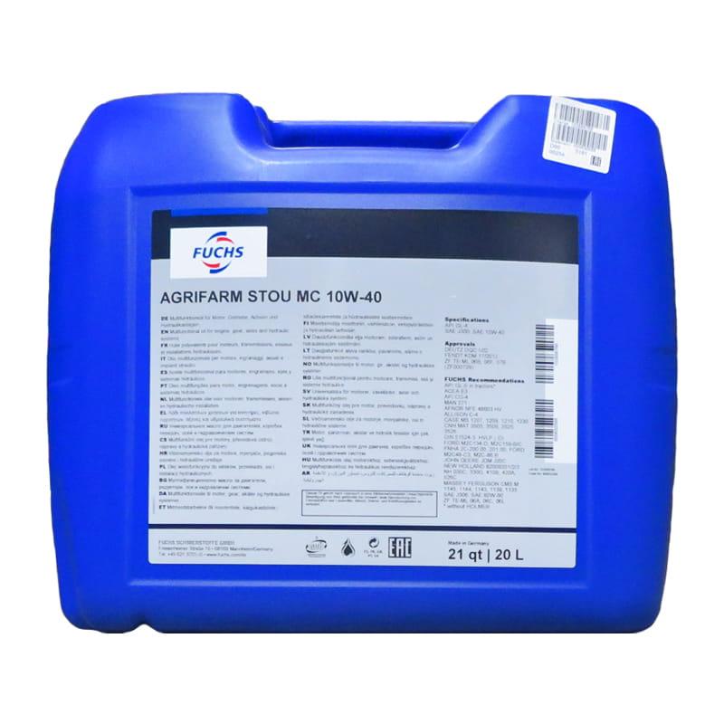 FUCHS AGRIFARM STOU MC  10W-40 - 20 Liter