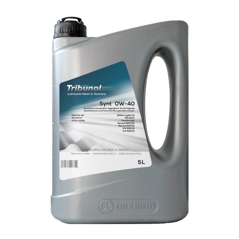 Tribunol Synt 0W-40 - 5 Liter