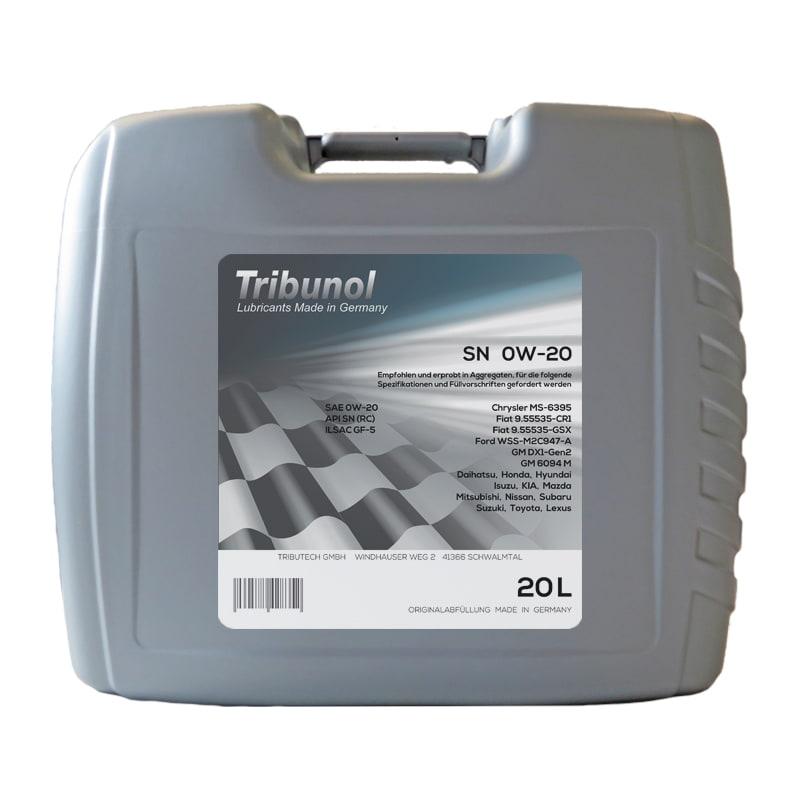 Tribunol SN 0W-20 - 20 Liter