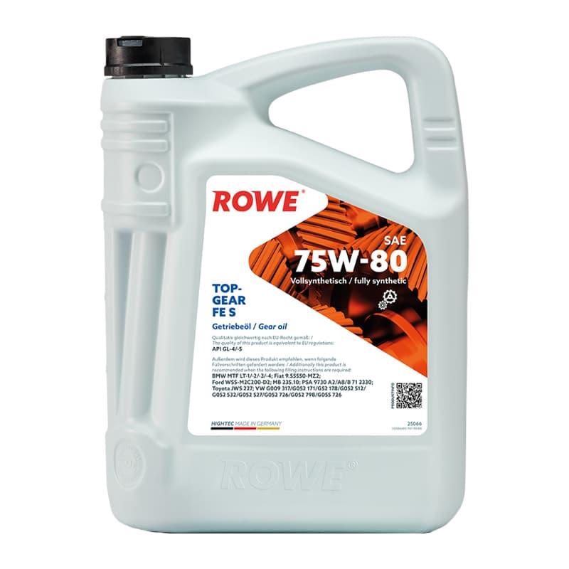 ROWE HIGHTEC TOPGEAR FE SAE 75W-80 S - 5 Liter