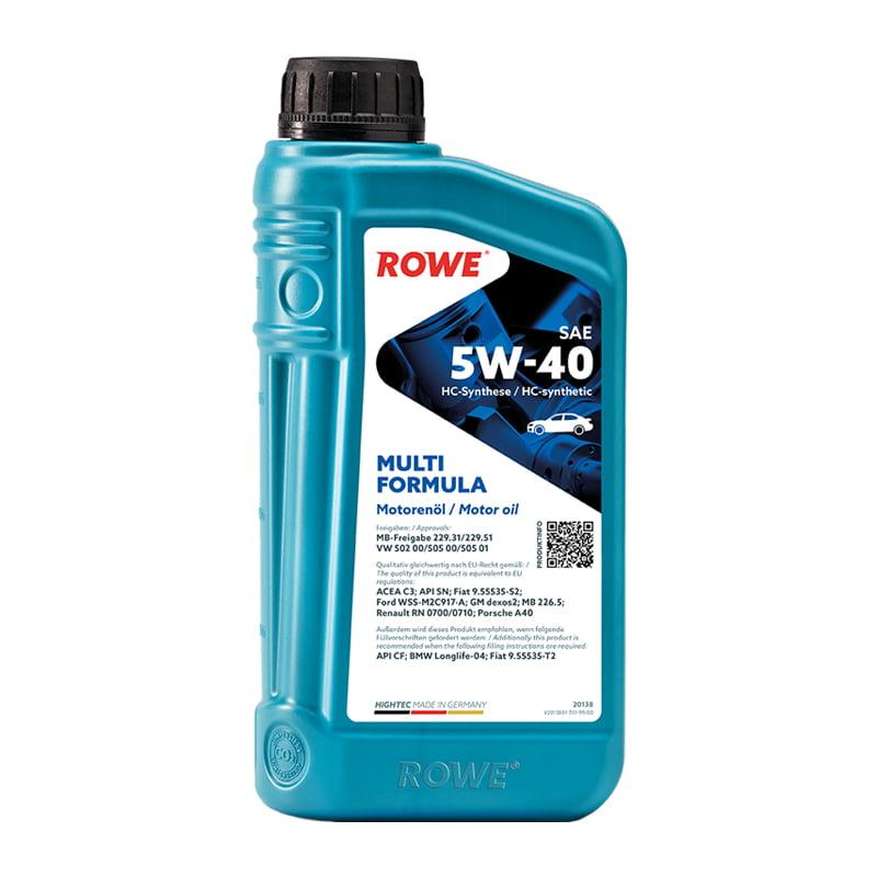 ROWE HIGHTEC MULTI FORMULA SAE 5W-40 - 1 Liter