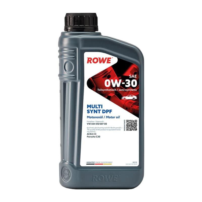 ROWE HIGHTEC MULTI SYNT DPF SAE 0W-30 - 1 Liter