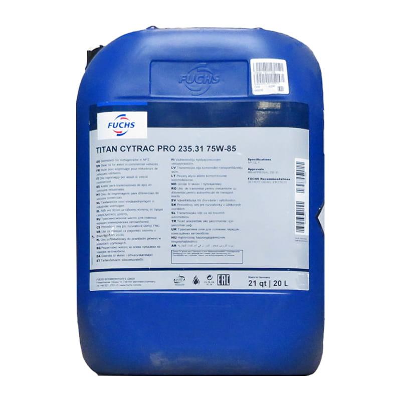 FUCHS TITAN CYTRAC PRO 235.31 SAE 75W-85 - 20 Liter