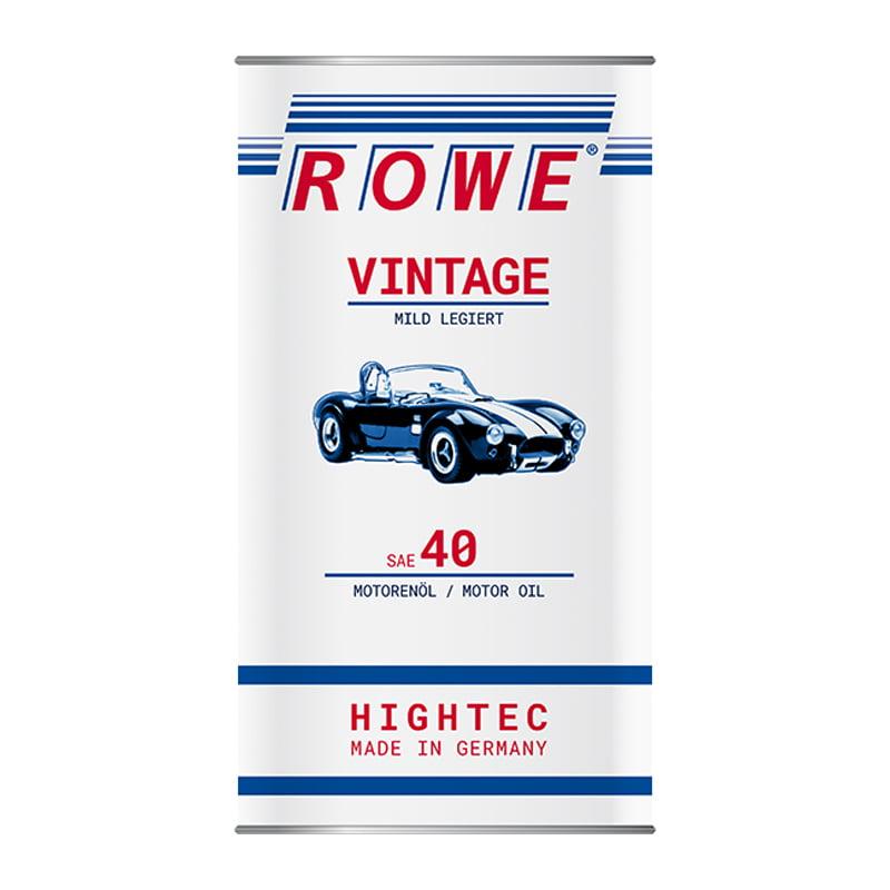 ROWE HIGHTEC VINTAGE SAE 40 mild legiert - 5 Liter