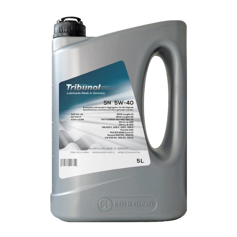 Tribunol SN 5W-40 - 5 Liter
