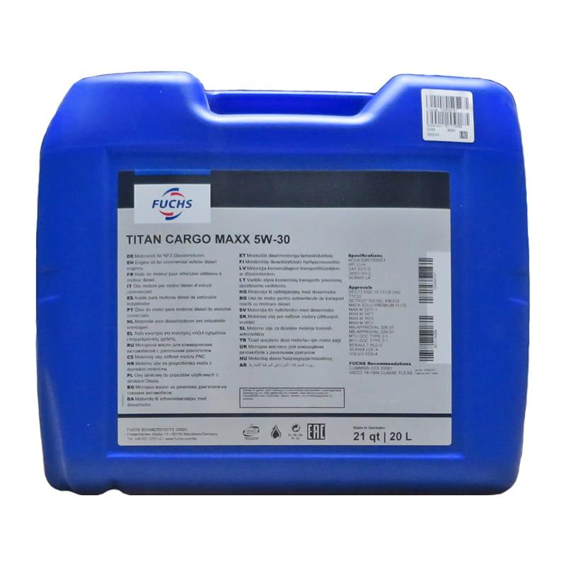 FUCHS TITAN CARGO MAXX SAE 5W-30 - 20 Liter