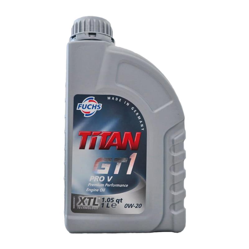 FUCHS TITAN GT1 PRO V SAE 0W-20 - 1 Liter