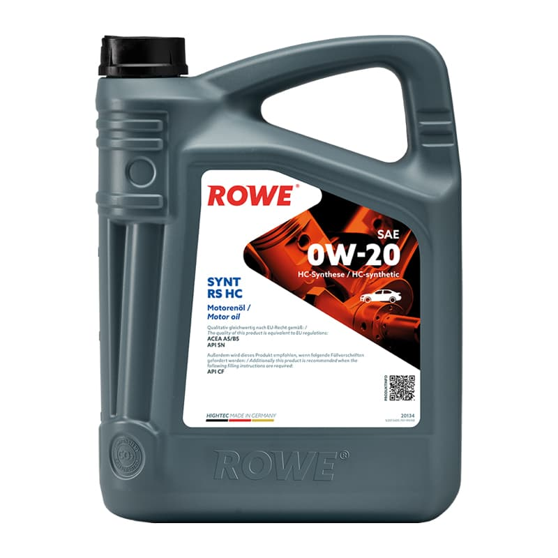 ROWE HIGHTEC SYNT RS HC SAE 0W-20 - 5 Liter
