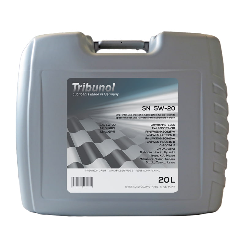 Tribunol SN 5W-20 - 20 Liter