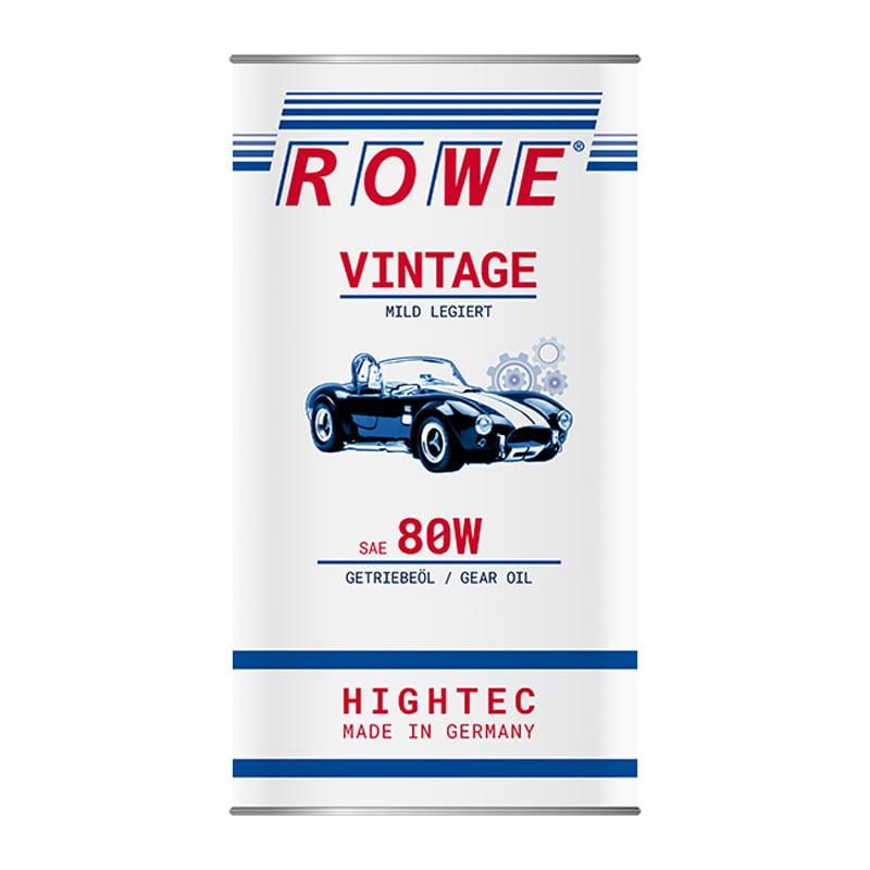 ROWE HIGHTEC VINTAGE SAE 80W mild legiert - 5 Liter