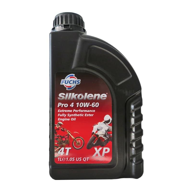 uchs Silkolene Pro 4 10W-60 XP- 1 Liter