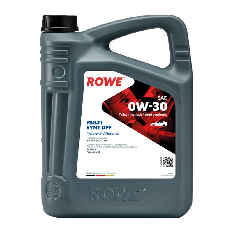 ROWE HIGHTEC MULTI SYNT DPF SAE 0W-30 - 5 Liter