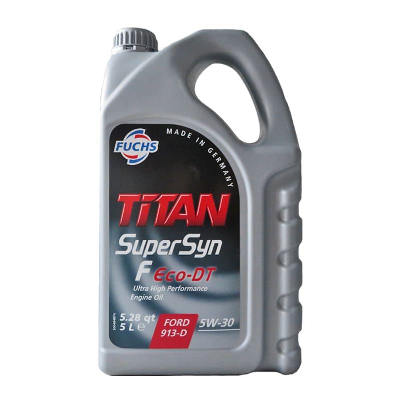 FUCHS TITAN Supersyn F Eco-DT SAE 5W-30 - 5 Liter