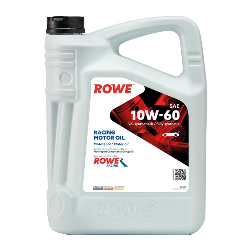 ROWE HIGHTEC RACING MOTOR OIL SAE 10W-60 - 5 Liter