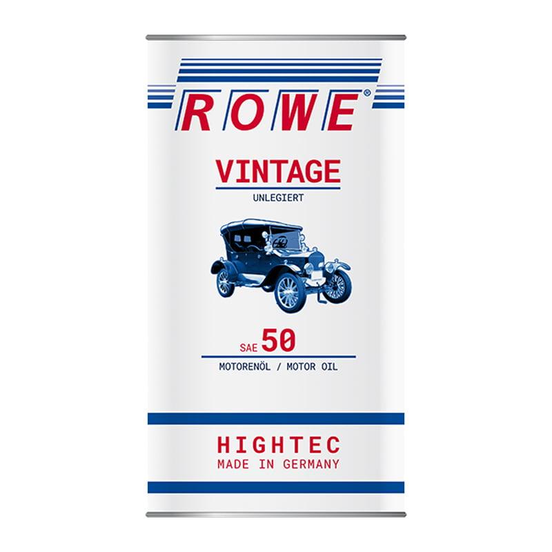 ROWE HIGHTEC VINTAGE SAE 50 unlegiert - 5 Liter