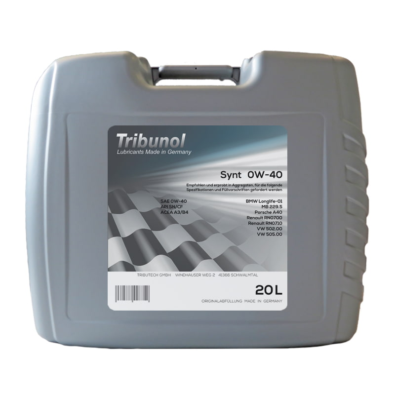 Tribunol Synt 0W-40 - 20 Liter